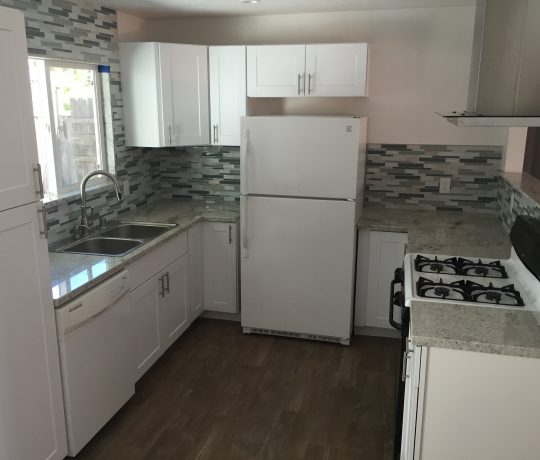 Newly refinished kitchen remodel by Merciari Construction